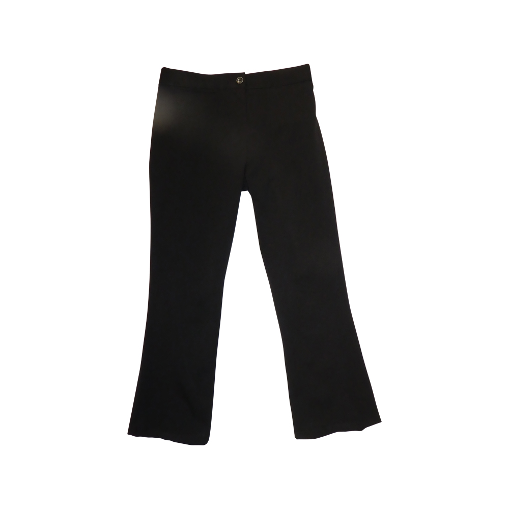 Girls Plus Fit Trousers Black
