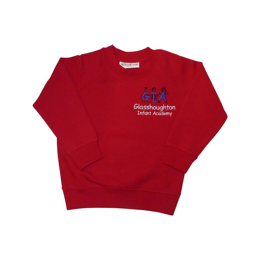 Glasshoughton Infant school sweatshirt