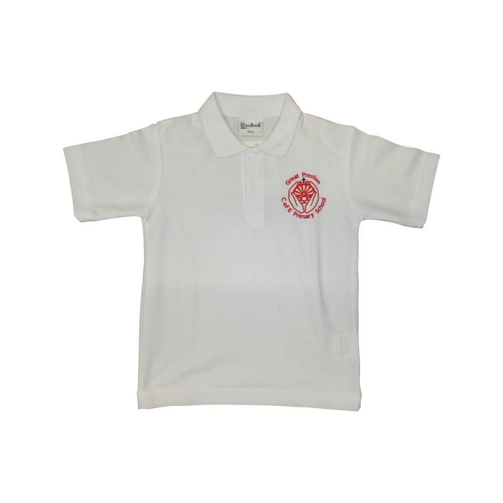 Great Preston white polo