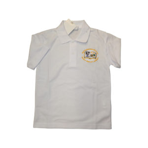 North Featherstone white polo