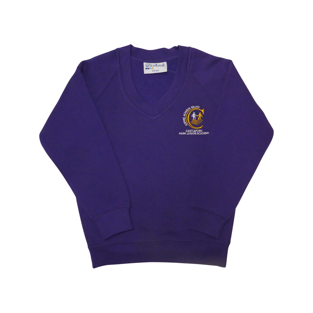 Park Junior 'V' neck sweatshirt