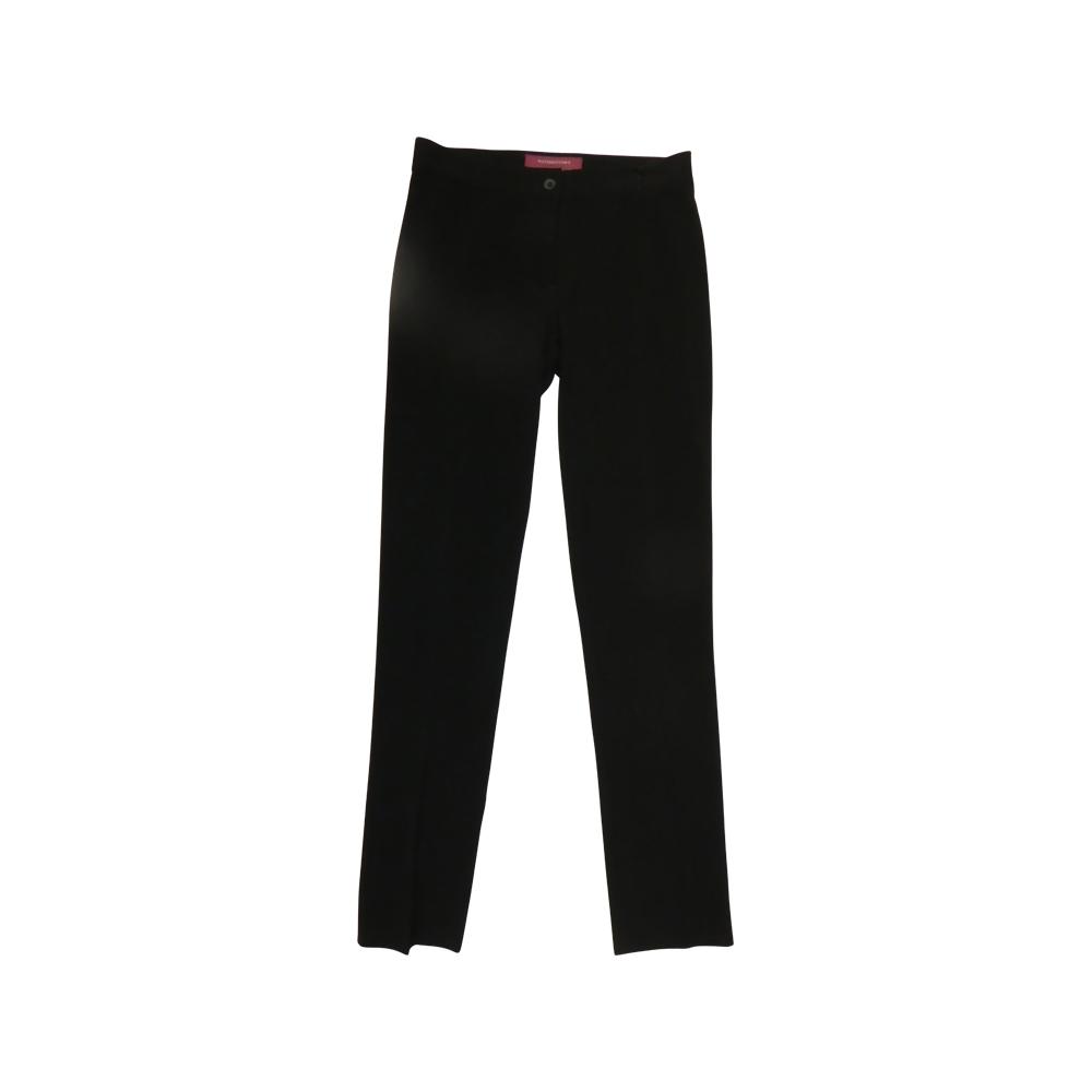 Senior Girls Slim Trouser Black